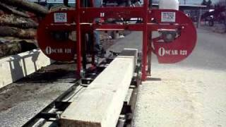 Oscar-121 Portable Sawmill By Hud-son Forest Equipment