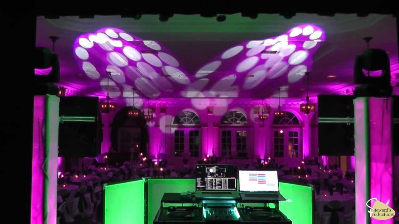 dallas wedding dj gig log event up lighting dfw djs