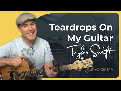 How to play Teardrops On My Guitar by Taylor Swift (Guitar Lesson SB-214)