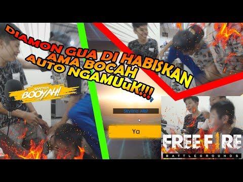 PARAH BOCAH HABIS IN SEMUA DIAMOND GUA SUE - GARENA FREE FIRE