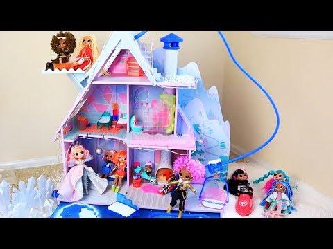 Куклы Лол Сюрприз Мультик! Зимняя дискотека во Дворце! Коллекция Lol Surprise Зима 2020!