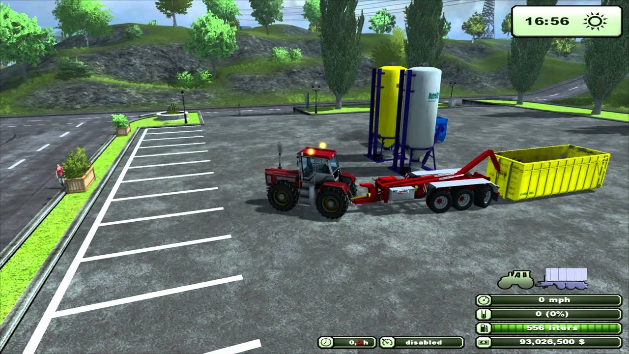 Farming simulator 2013 mod review hooklift pack trailer and implements v0 95 beta byfmc en youtube