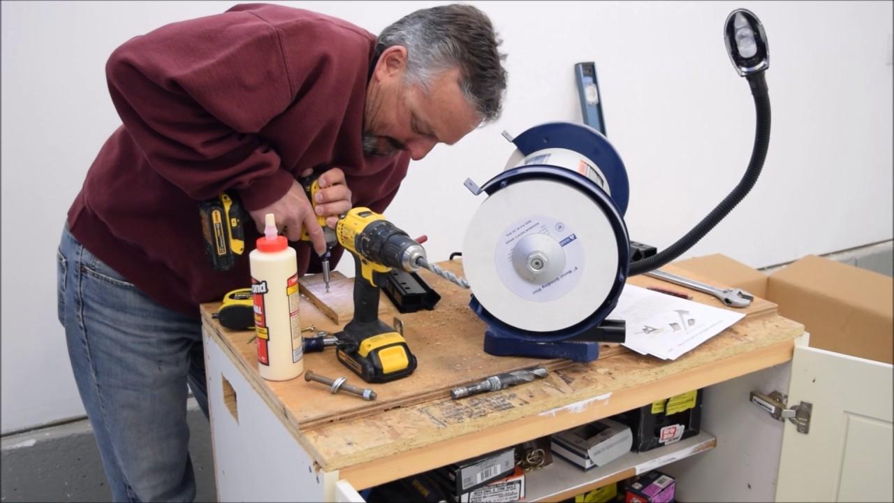 New Shop Grinder Wolverine Lathe Tool Sharpening System
