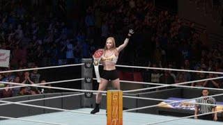 WWE 2K18 Summer Slam Ronda Rousey vs. Alexa Bliss for the Raw Womens Title