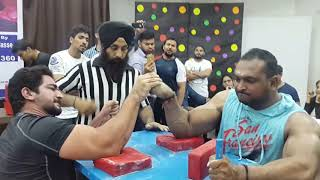 100 KG Men - Delhi State Armwrestling 2017, 29 October
