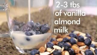 Make A 2 Minute Gluten-free Blueberry Muffin