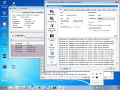 Internet Gratis Kartu XL dan Indosat dengan Bitvise dan...   Doovi