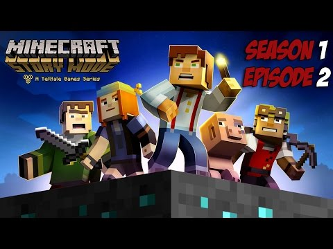 Minecraft Story Mode - Season 1 - Episode 2 - Game Movie
