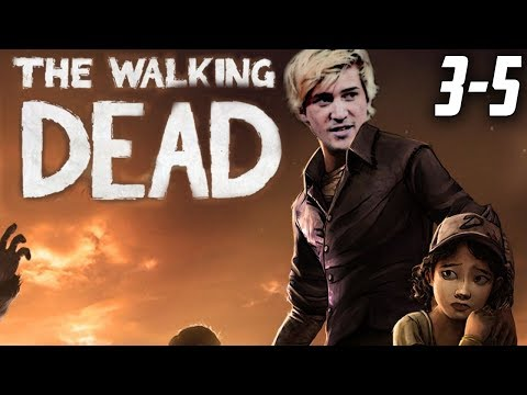 XQc Plays The Walking Dead W/chat #3-5
