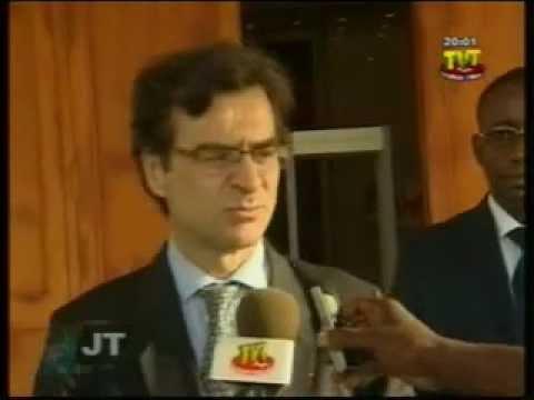 Visite de Dominique LAFONT,  président  de Bolloré Africa  Logistics à Lomé