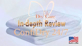 Dry Care®  ConfiDry™  24/7 Adult Diaper  IN-Depth Review #incontinence #adultdiaper