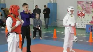 2016 Турнир по карате киокушинкай девочки. СК