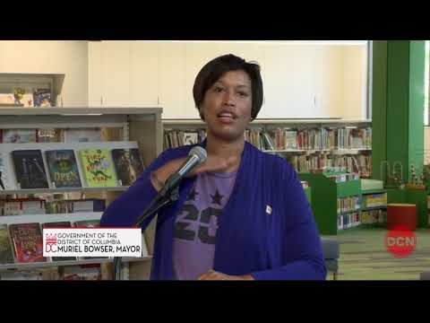 Mayor Bowser Cuts Ribbon on Cleveland Park Library, 6/16/18