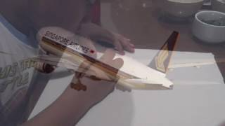 Singapore Airlines B777-200 drawing
