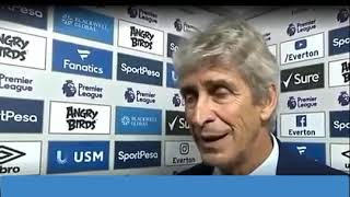Everton Vs West Ham ( 1 - 3) Manuel Pellegrini Post Match Analysis