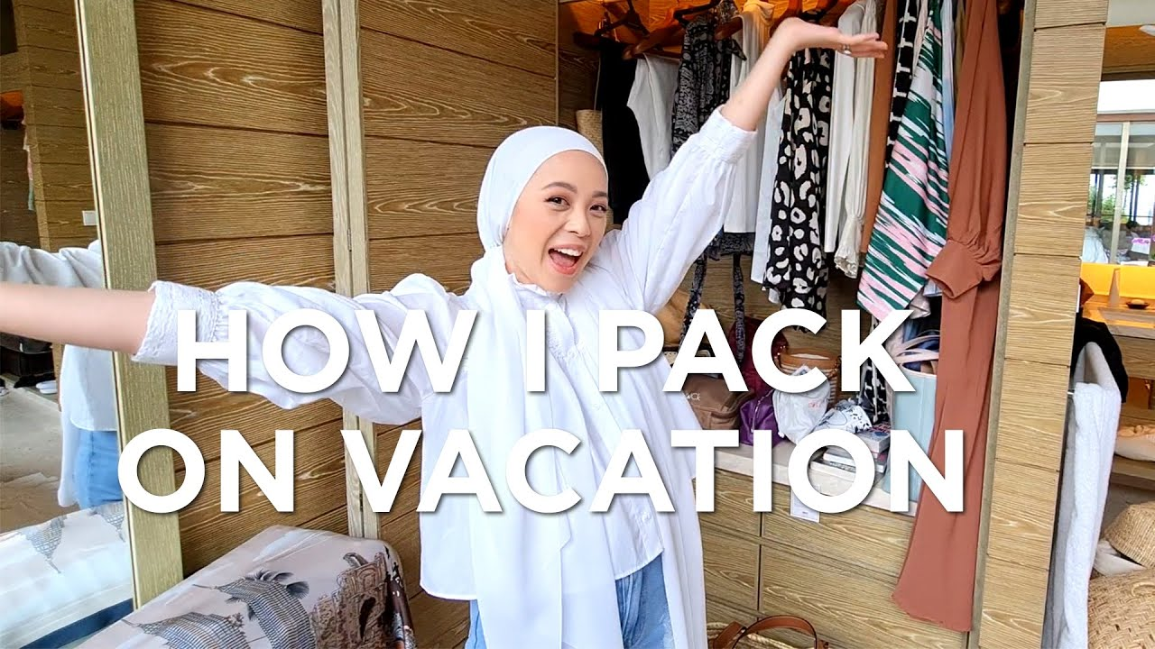 How I pack on vacation | Vivy Yusof