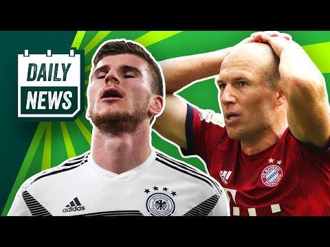 Die Transfer-Liste des FC Bayern! Plante Sporting-Präsident Attacke auf Spieler? DFB Team mit Remis!