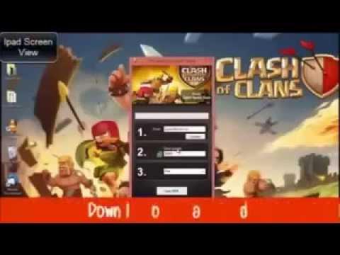 Clash Of Clans Gem Hack Bluestacks 2014 Working & Free!
