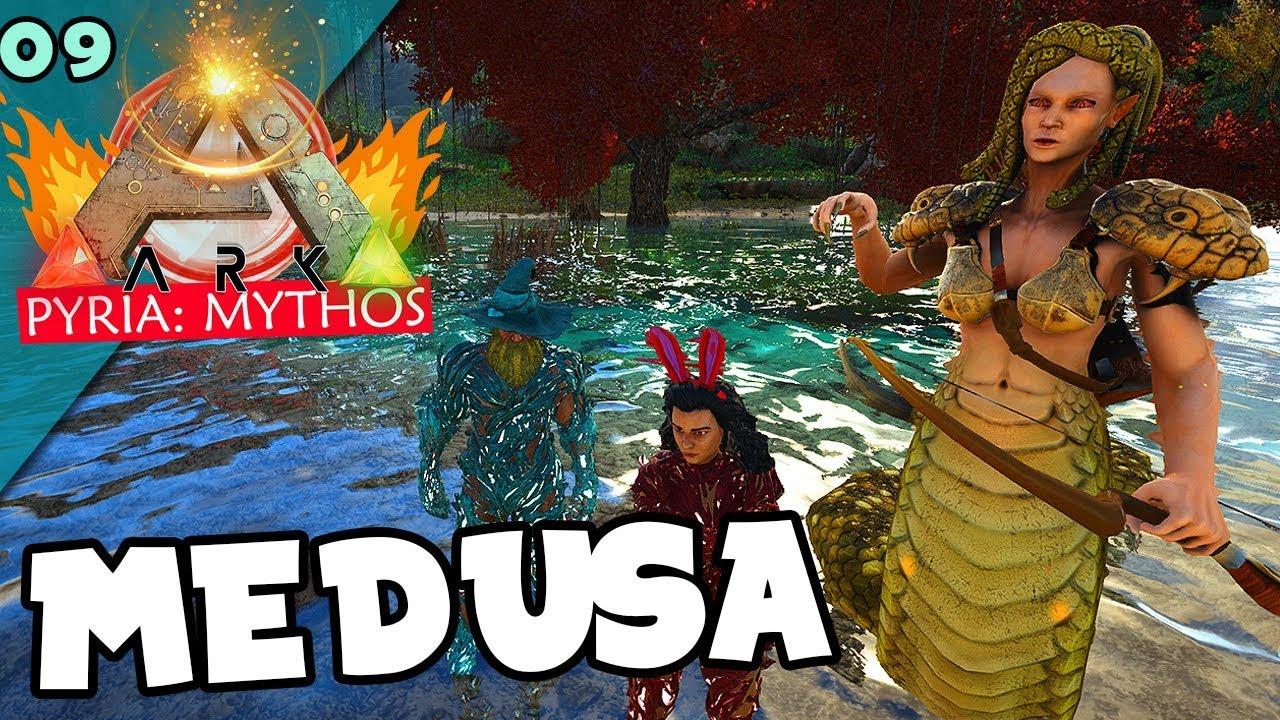 Domamos A Medusa Ark Pyria Mythos Evolved 09 Youtube The ark creature id for daeodon with a copyable spawn command. domamos a medusa ark pyria mythos evolved 09