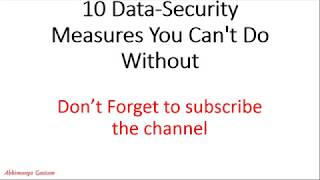 10 Cyber Security Measures That Every Small Business Must Take