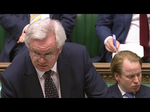 David Davis makes statement in House of Commons -  watch live