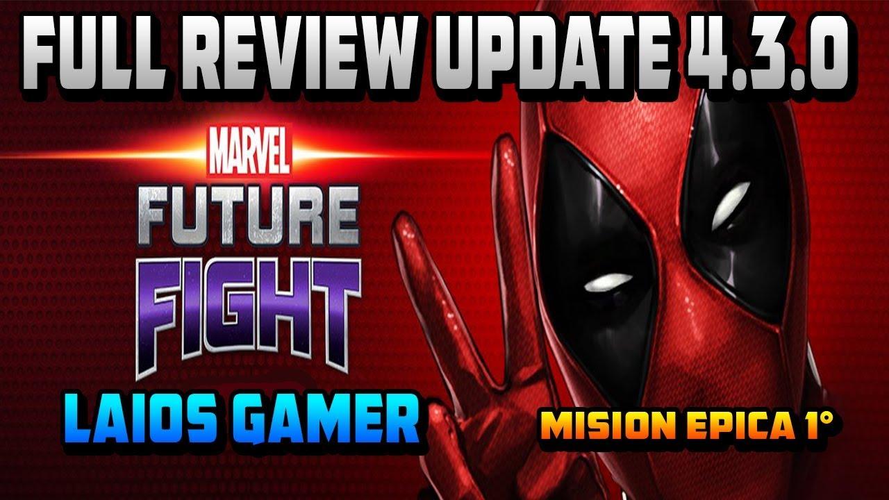 Marvel Future Fight Full Review Update 430 Misión épica 1 X