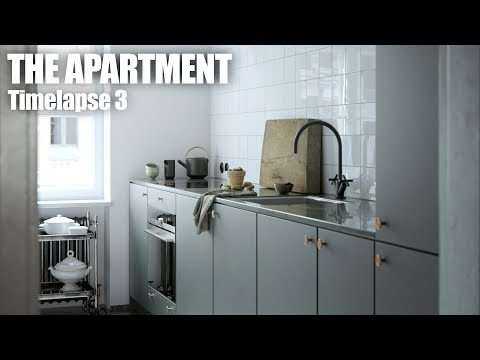 The Apartment timelapse 3 (3ds Max + V-Ray)