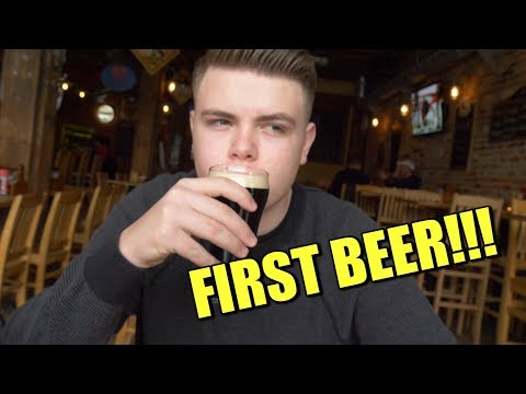 Cop Takes His Kid for First LEGAL Beer