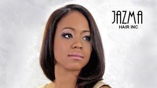 Semi-Natural Relaxer Black Hair Style Cut By Jazma - Toronto Salons - Long Hair