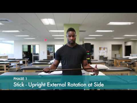Shoulder Replacement Rehab PHASE 1 | Shoulder Replacement Rehab Workout