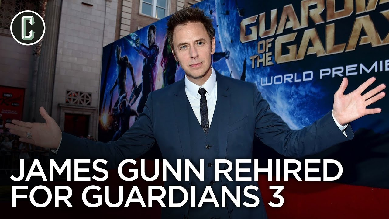 James Gunn Reinstated by Disney, Will Direct Guardians of the Galaxy Vol. 3 #1