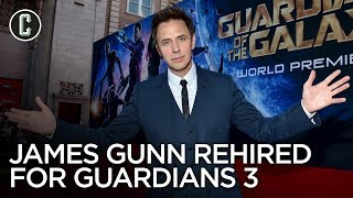 James Gunn Reinstated By Disney Will Direct Guardians Of The Galaxy Vol 3