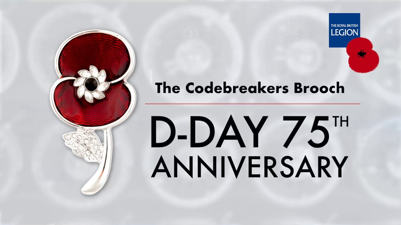 The Codebreakers Brooch - Buy now from The Poppy Shop