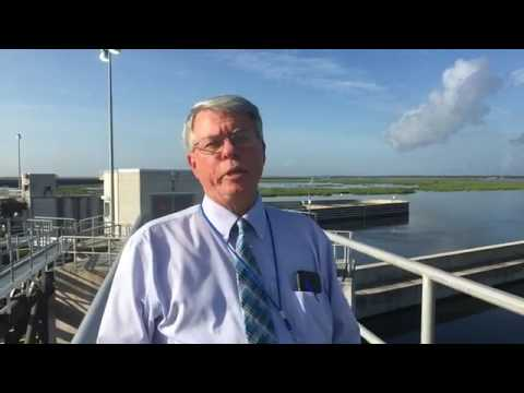 With the height of hurricane season approaching, see the Lake Borgne surge protection barrier