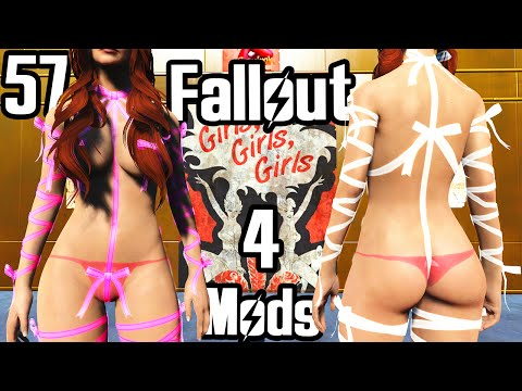 Fallout 4 Mod Review 57 - RIBBON ARMOR and PRIDE OF VALHALLA SKIN TEXTURE CBBE - Boobpocalypse