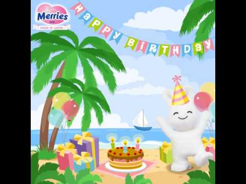 Merries Malaysia - Merries Bunny Birthday Party