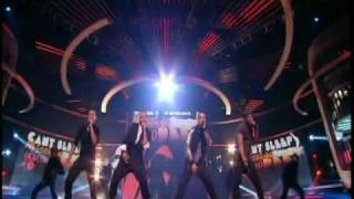 JLS - Everybody In Love Live X-Factor (HQ Biggest Band!)
