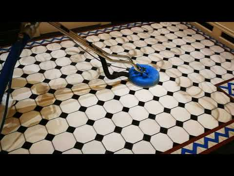How To Clean a Heritage Victorian Floor | Clean Tile and Grout