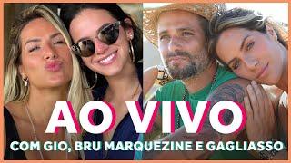 AO VIVO: Gio Ewbank, Bruna Marquezine e Bruno Gagliasso contam os bastidores de Fernando de Noronha