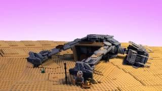 STAR WARS The Force Awakens in LEGO - Behind the scenes Part 2 ( Jakku )