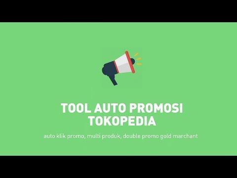 Tool Auto Klik Promosi  Dink Tokopedia V3 - Promo 24 Jam Nonstop