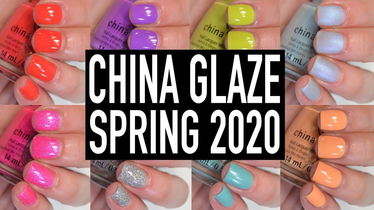 China Glaze Halloween 2020 Sallys China Glaze   Trolls World Tour (Spring 2020) | Swatch & Review
