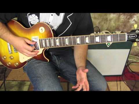 How to Play Even Flow by Pearl Jam part 1 - Gibson Les Paul