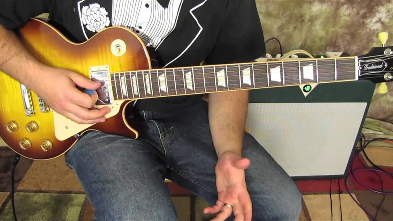 How To Play Even Flow By Pearl Jam Part 1 Gibson Les Paul Youtube