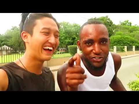 Dancer × Backpacker Shimon owaki , World travel  30 in Kingston / Jamaica  (HD)