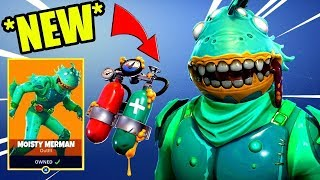"*NEW* ""MOISTY MERMAN"" SKIN! 😍 