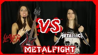 SLAYER vs. METALLICA ♫ Eliminatoria 3 MetalFight #ChampionsMOV