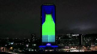 Amazing 4D projection 720p and Deadmou5 take on London.
