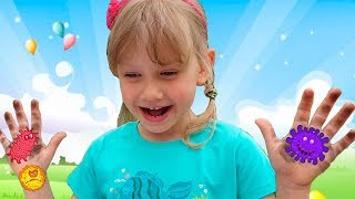 Alena and Pasha learn how to behave Story for kids
