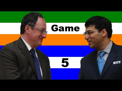 2012 FIDE World Chess Championship - Anand vs. Gelfand - Game 5